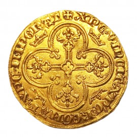 Charles IV - Royal d'or - Paris - 1326 AD