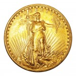 $20 Dollars 1908 Saint-Gaudens - Double Eagle No Motto