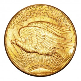 $20 Dollars 1910 D Saint-Gaudens - Double Eagle Avec Devise