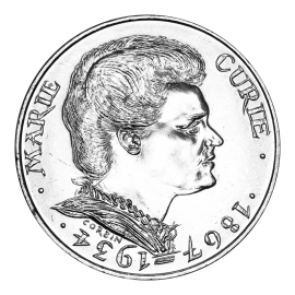 100 Francs Silver Marie Curie 1984