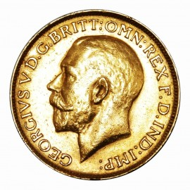Gold Sovereign George V (1911-1936)