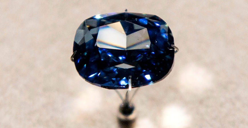 Sotheby's sells Blue Moon Diamond for a new world record at auction